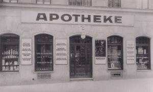 Lindwurm Apotheke 1930