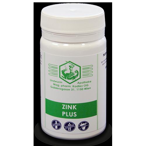 Zink Plus Nahrungsergänzung Mikronährstoffe Lindwurm Apotheke